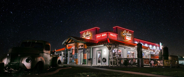 Sickies Fargo at Night