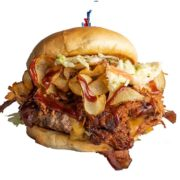 BBQ Wood Chipper Burger