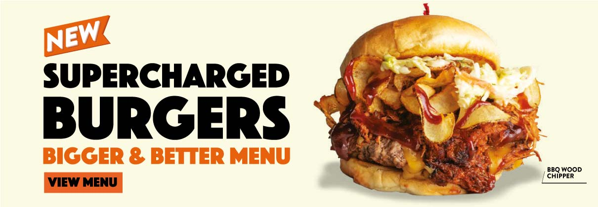 New Supercharged Burgers