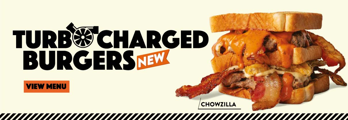 All-new Turbocharged Burgers